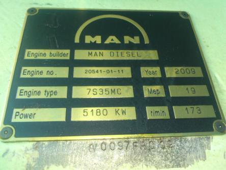 MAN 7S35MC